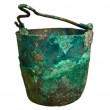 Old pot from the bronze age — Stock Photo