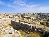 Ammans citadell, al-qasr webbplats — Stockfoto