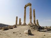 Temple of Hercules in Amman Citadel, Jordan — Stock Photo