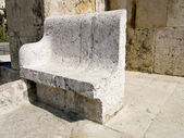 Detail of Roman amphitheater in Amman, Jordan — Stock Photo