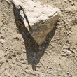 Triangle stone — Stockfoto