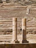 Amphitheater, Petra Jordan — Stock Photo