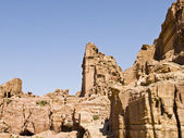 Street of Facades, Petra Jordan — Stock Photo