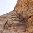 Hidden stairs Petra Jordan — Stock Photo