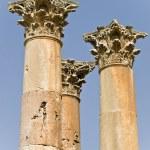 Temple of Artemis, Jerash — Stock Photo #25712479
