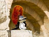 Roman Legionar's helmet — Stock Photo