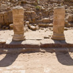 Постер, плакат: Roman ruins Petra Jordan
