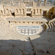 Amphitheater in Jerash — Stock Photo #25734075