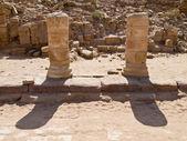 Roman ruins, Petra Jordan — Stock Photo