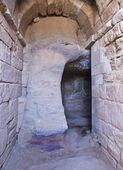 Inside the Urn tomb, Petra Jordan Petra Jordan — Stock Photo