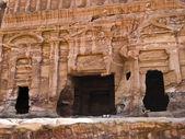 Palace tomb, Petra Jordan — Stock Photo