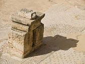 Remains of Byzantine church — Stock Photo