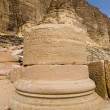 Nabatean temple — Stock Photo