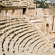 Amphitheater in Jerash — Stock Photo #25743413