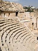 Amphitheater in Jerash — Stock Photo