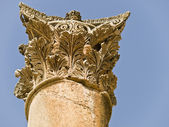 Temple of Artemis, Jerash — Stock Photo