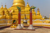 Kuthodaw Pagoda — Stockfoto