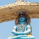 Indian god Shiva — Stock Photo