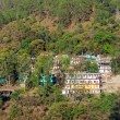 Small town Rudraprayag — Stock Photo