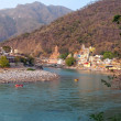Holy Ganges river — Stock Photo