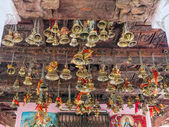 Bells of the old temple Chamunda Mata — Stockfoto