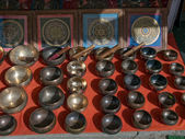 Campane tibetane — Foto Stock