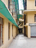 Tibetan Refugee homes — Stock Photo