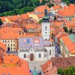 St. Mark's Church Zagreb — Stock Photo