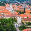 Stock Photo: Old upper town in Zagreb