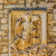 Relief on the wall in Pula — Foto de Stock