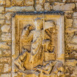 Relief on the wall in Pula — Stock Photo