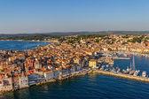 Aerial shoot of Rovinj, Croatia — Stock Photo