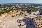 Stone quarry — Foto Stock