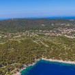 Adriatic landscape - Island Losinj — Stock Photo