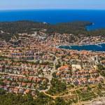 Adriatic landscape - Island Losinj — Stock Photo
