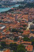 Zadar aerial — Stock Photo