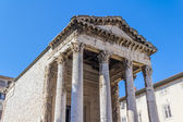 Roman temple — Stock Photo