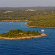 Stock Photo: Adriatic landscape - small island