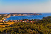 Aerial shoot of Rovinj, Croatia — Stock Photo