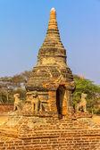 Ancienne stupa vieux bagan — Photo