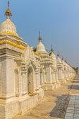 Pagoda kuthodaw — Foto Stock