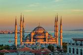 Błękitny Meczet w Stambule - zachód — Zdjęcie stockowe
