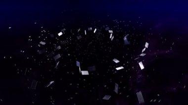 3D filmstrip motion — Stock Video