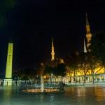 Постер, плакат: Sultanahmet Meydani by night