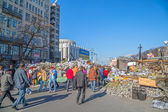 Euromaidan revolution in Kiev — Стоковое фото