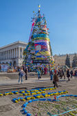Euromaidan revolution in Kiev — Foto Stock