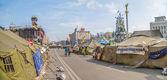 Euromaidan revolution in kiew — Stockfoto