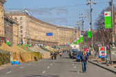 Euromaidan revolution in Kiev — Stockfoto