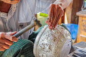 Inle Lake Traditional crafts — Stock Photo