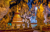 Pindaya caves — Stock Photo